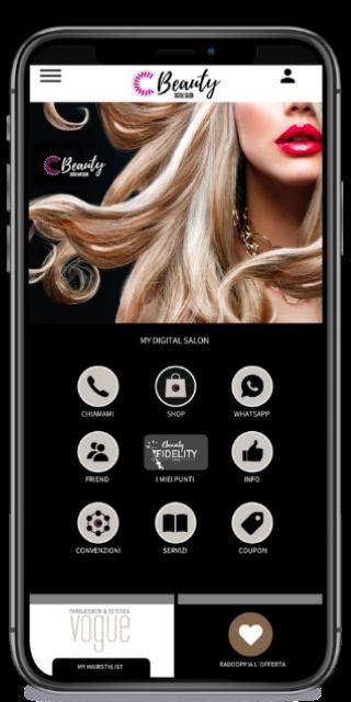 Esempio app cbeauty