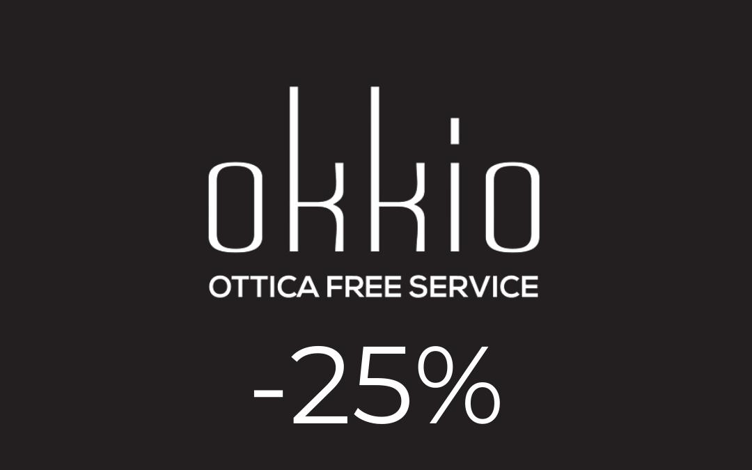 Okkio – 15%