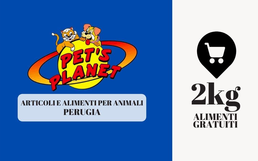 Pet's planet – 2 kg di prodotto in omaggio